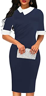 Best navy blue and white dress Reviews