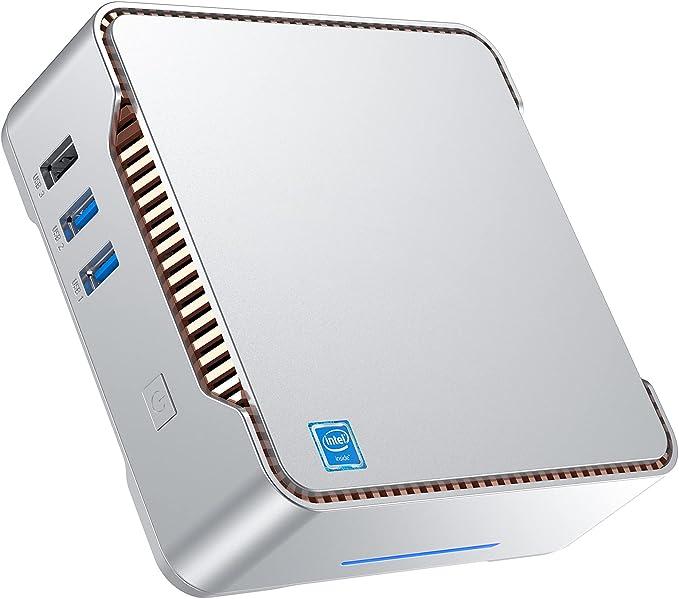 Mini PC Windows 10 pro Intel Celeron J4125(up tp 2.70Ghz) Mini Computer 8GB DDR4 128GB SSD Quad-Core Dual HDMI Gigabit Ethernet Dual Band WiFi 2.4G/5G Bluetooth 4.2, Support Triple Display, 4K UHD | Amazon