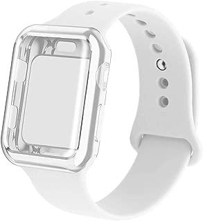 white apple watch case