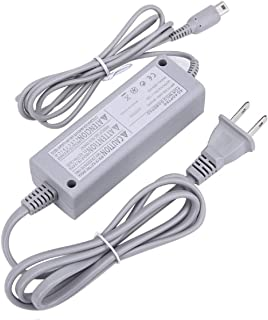 Cotchear AC Power Supply Adapter Gamepads Cable for Nintendo Wii U Console Gamepad 100-240V AC Charger Adapter Cable for Wii U