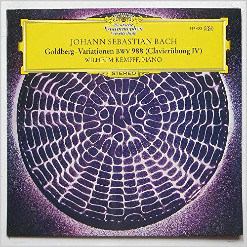 Johann Sebastian Bach: Goldberg-Variationen [LP]