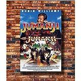 ZHINING Jumanji 1995 Robin Williams Filmplakat Wandkunst