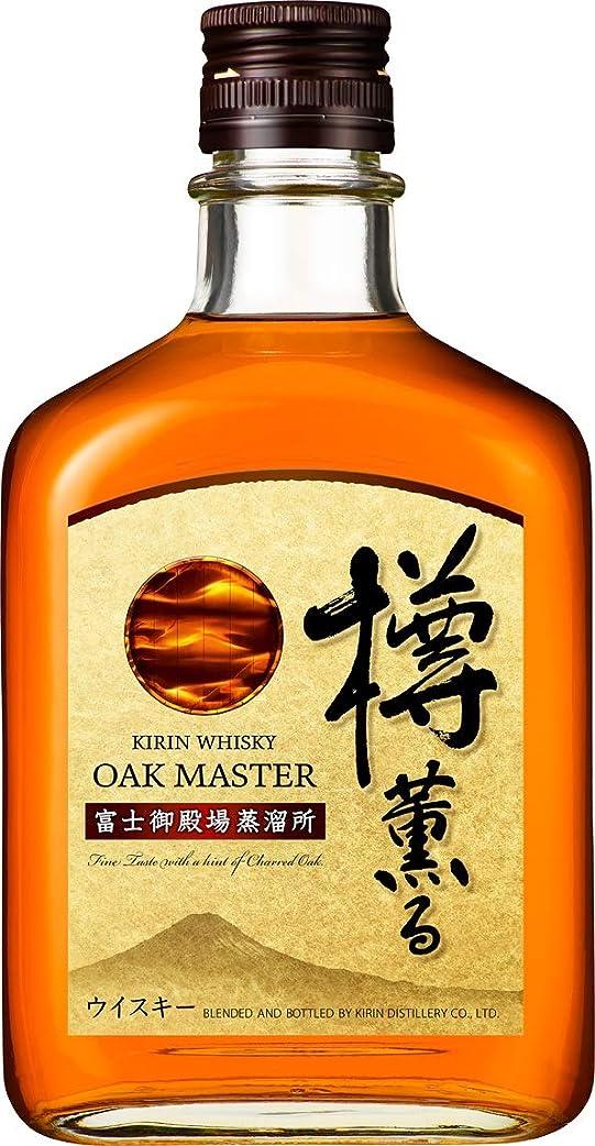 局おっと受付オークマスター樽薫る 瓶 [ ウイスキー 日本 640ml ]
