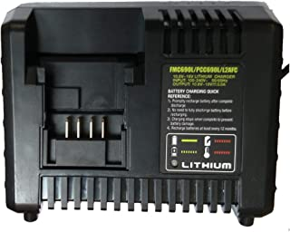 For Black and Decker for stanley for PORTER CABLE 10.8V- 20V Lithium Battery charger LCS1620 LBXR20 BDCAC202B LBXR2020 LB2X4020 PCC685L PCC680L PCC681L LST220 L2AFC Li-ion Battery laipuduo (3A)