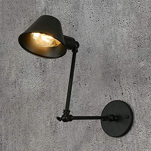 Decoratie LED Lichtbron E27 Smeedijzeren Materiaal Lamp Arm Kan Telescopisch Vouwen Dubbele Sectie Lange Arm Wandlamp 5-10 Vierkante Meters Restaurant Cafe Bar Lamp Verlichting Villa