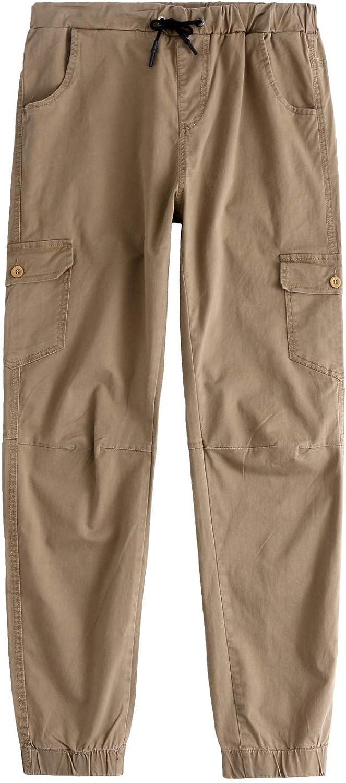 des Pantalons Cargo Hommes Les Sweatpants Moderne Casua Chino Pantalons Pantalons De Survêtement Regular Fit Vêtements De Mode 3 Khaki
