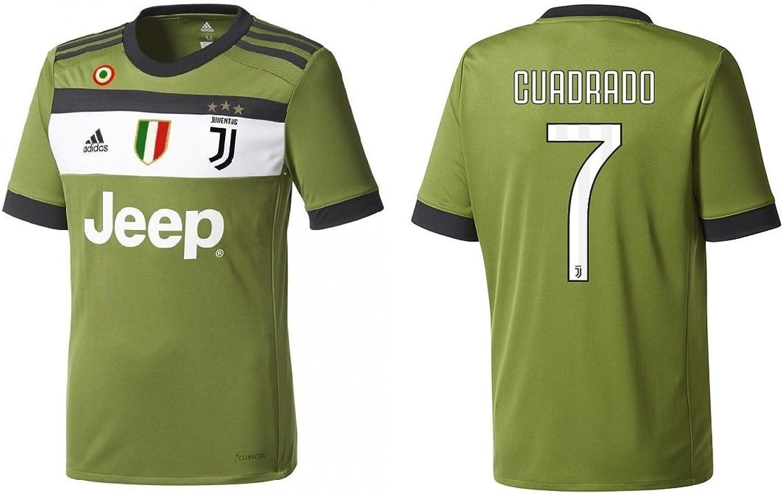 Trikot Kinder Juventus 2017-2018 Third Coppa Scudetto - Cuadrado 7