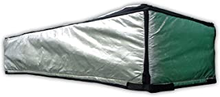 ThermoClimb Attic Door Insulation, Cover, Reflective Attic Stairway Insulator, Fireproof Tent Kit with Adjustable Straps, Zipper Opening, Size 59 x 25 x 13 Inches Deep, to Prevent Heat Loss