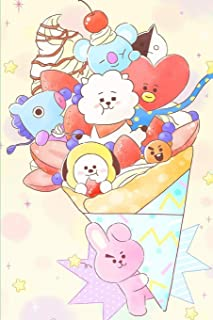 KPOP FOREVER FRIENDS BT21 BTS OPPA BIAS DAILY AGENDA PLANNER FOR A.R.M.Ys: 6x9 Cute Everyday Personal School Diary for Fans and Kdrama Lovers Knetz