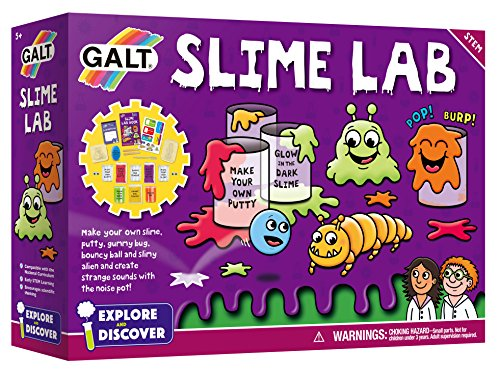 Product Image of the Galt Toys, Slime Lab, Science Kits for Kids, Ages 5+, Multicolor