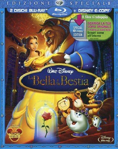 La bella e la bestia(edizione speciale+e-copy) [Blu-ray] [IT Import]
