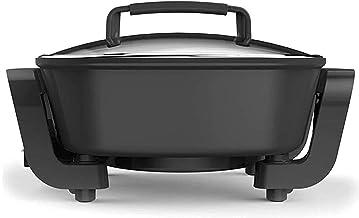 AWJ Pot de Barbecue électrique Multifonctionnel Wok électrique Domestique Plat Chaud Une pièce Petit Pot électrique Poêle ...