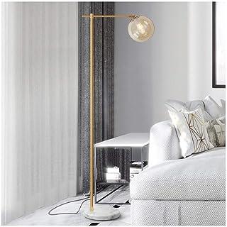 Lampadaire Lampadaire moderne avec verre Abat, for Chambre Salon Bureau Chambre simple lumière nuit Floor Lighting E27 (Co...
