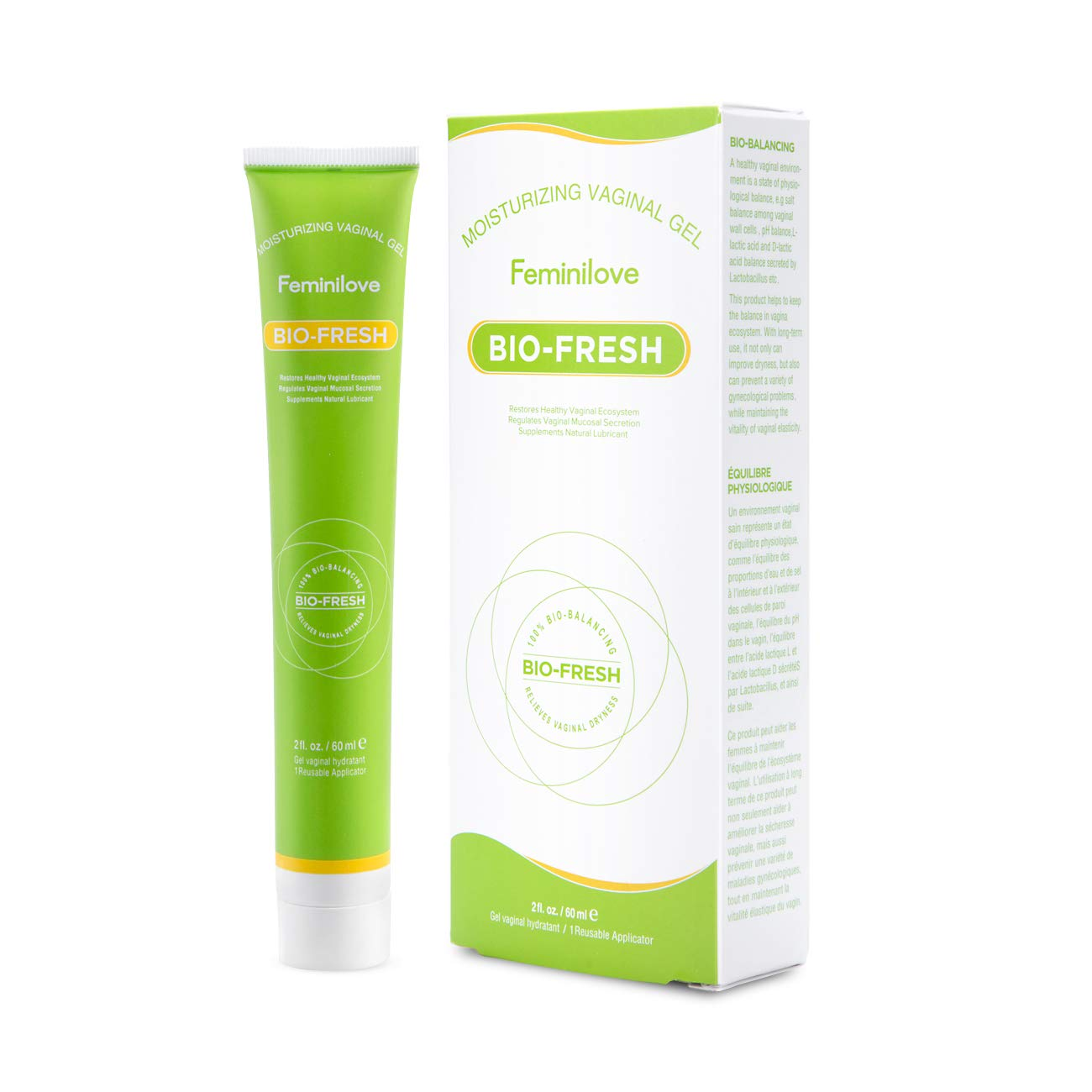 Feminilove Organic Moisturizing Certified Vaginal 通信販売 Gel 海外