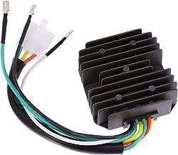 QUIOSS Voltage Regulator Rectifier 31700-333-008, 31400-300-035 For 1969-1978 Honda CB350F CB400F CB500 CB550 CB750