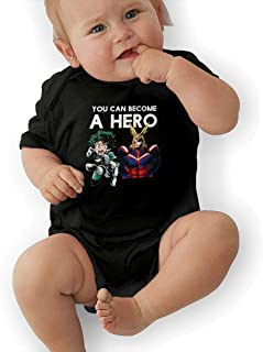 Baby Bodysuit, My Cute Hero Academia Baby Boys' Cotton Bodysuit Baby Clothes