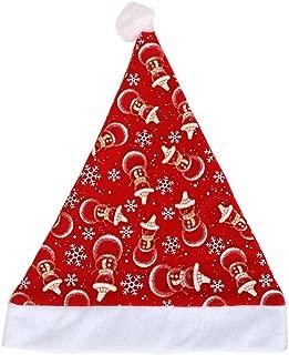 Amosfun Christmas Hats Santa Hat Headdress Party Favors Christmas Hats Decorations for Party Christmas