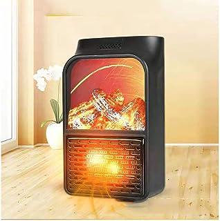 JW-NFJ Mini eléctrico de Toma de Pared Calentador de Llama Plug-in de Aire más Caliente PTC Estufa de cerámica del radiador del hogar práctico del Ventilador Wall