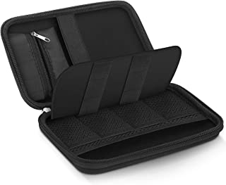 EVISTR Small Electronic Organizer Portable Storage Hard EVA Bag Universal Travel Electronics Accessories Protective Bag for Cable, Hard Drives, Tech Gears, SD Card, USB, Phone Accessories And More
