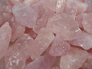 "( A: 0.5kg Lot) - Fantasia Materials: 0.5kg Rose Quartz ""AAA"" Grade from Brazil - Raw Natural Crystals for Cabbing, Cuttin..."