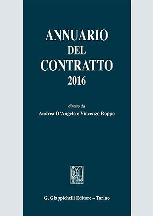 Annuario del contratto 2016