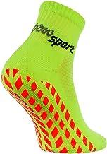 Rainbow Socks - Man Vrouw Badstof Anti-slip Sport Enkelsokken Neon