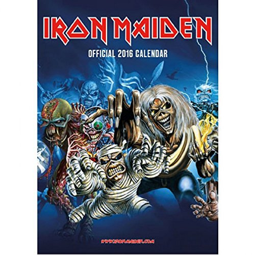 Iron Maiden - Calendario Oficial 2016 Póster Calendario (42 x 30cm)