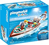 PLAYMOBIL- Lancha Motor Submarino Juguete, Multicolor (geobra Brandstätter 9428)