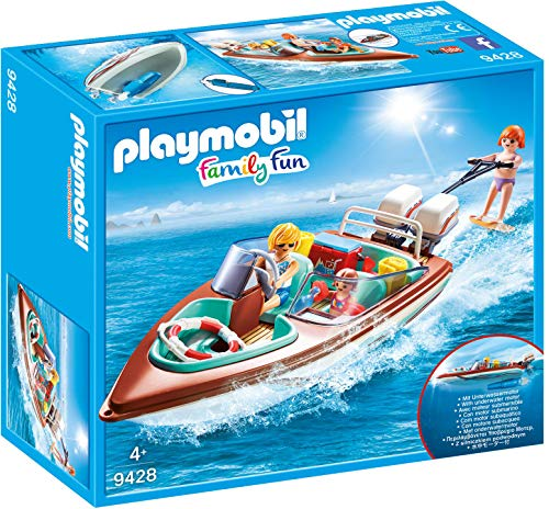 Playmobil 9428 Motorboot met onderwatermotorspel