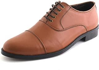 XY HUGO 599 Tan Police Shoe for Men's-9
