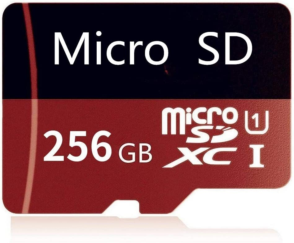 Tablets and Other Compatible Devices 256 GB-A 256 GB Micro SD Card High Speed Class 10 SDXC with Free SD Adapter Designed for Android Smartphones