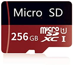 High Speed 256GB Micro SD Card Designed for Android Smartphones, Tablets Class 10 SDXC Memory Card with Adapter (256GB)