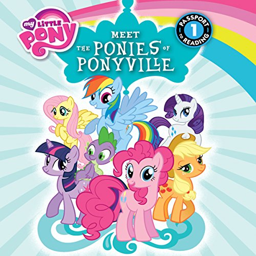My Little Pony: Meet the Ponies of Ponyville audiobook cover art