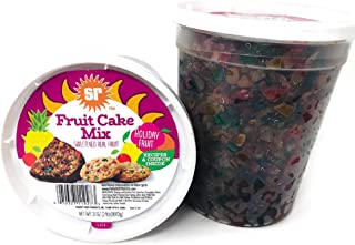 2 Sunripe Candied Fruit Cake Mix -Holiday Fruit 32 ounce/2 lbs. each Made in the USA