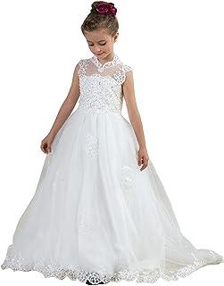 1e9886d58e250 KekeHouse® Cru Robe De Princess En Tulle Robe De Fille De Fleur Pour Mariage  Filles