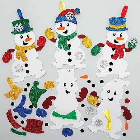 Baker Ross Bastelset Mit Laternen Weihnachten Für Kinder Für Weihnachtliche Bastelarbeiten Und Dekorationen 4 Stück Gewerbe Industrie Wissenschaft