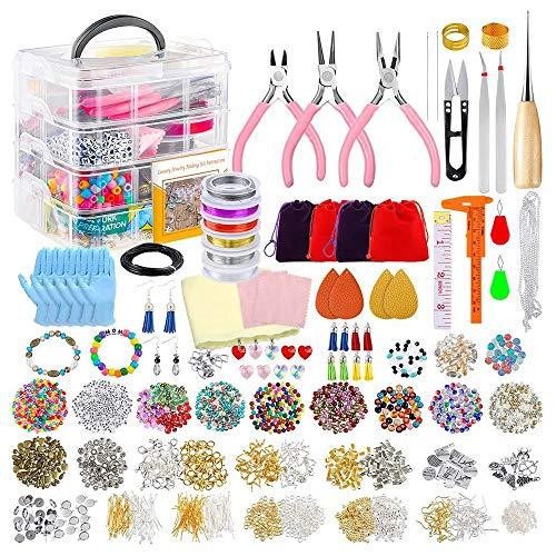 KAERMA acryl parel kristallen kralen DIY kinderen en volwassenen armbanden en oorbellen sieraden maken accessoires handgemaakte DIY sieraden