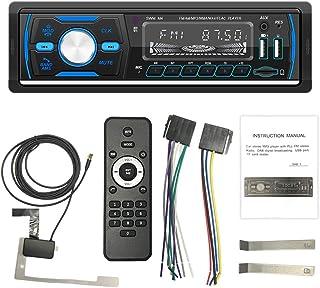 Iycorish Car MP3 Player, 1DIN Stereo USB AUX FM AM RDS DAB DAB+ Car Radio Receiver Multimedia Audio