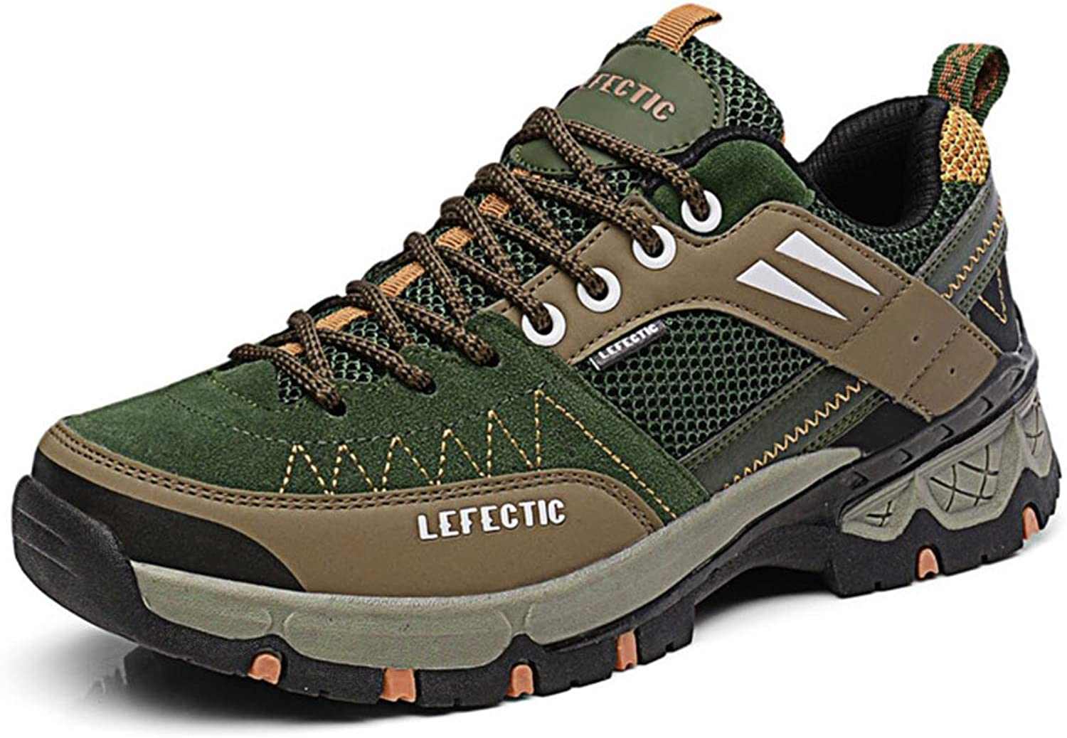 BERTERI Men's Hiking shoes Lightweight Breathable Mesh High Friction Casual Fashion Sneakers