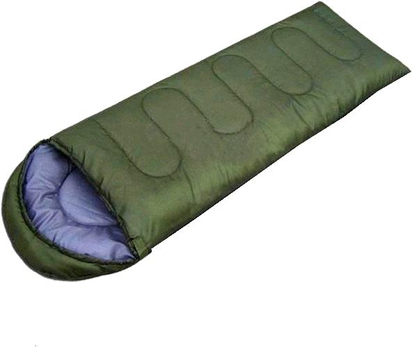 Yy.f Enveloppe Sacs De Couchage La Randonnée Le Camping Sac D'emballage Ultra-compact Peut être Utilisé Comme Un Tampon De Couverture Ou De Sommeil (bleu Et Vert)
