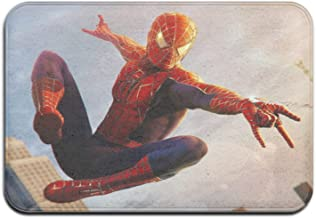 Spiderman Tapis de sol décoratif, tapis de sol antidérapant, tapis de sol, tapis d'entrée, tapis de salle de bain antidéra...