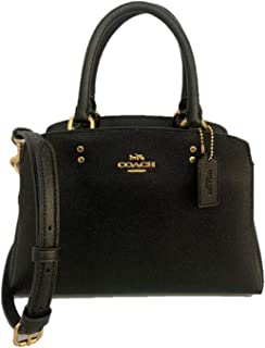 Crossgrain Leather Mini Lille Carryall Satchel - Black, Small