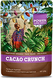 Power Super Foods Organic Cacao Crunch 200 g