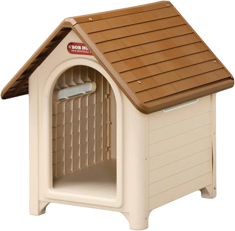 IRIS Plastic Dog House, Beige