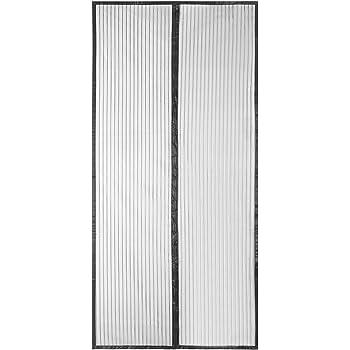 QH-Shop Mosquitera Puertas, Mosquitera Magnética Automático para Puertas Cortina de Sala de Estar la Puerta del Balcón Puerta Corredera de Patio 110 x 220cm: Amazon.es: Hogar
