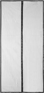 MonTrüe 90x210cm Cortina Magnética de Puerta a Prueba de Mosquito para Puertas de Madera, Puertas de Hierro, Puertas Metál...