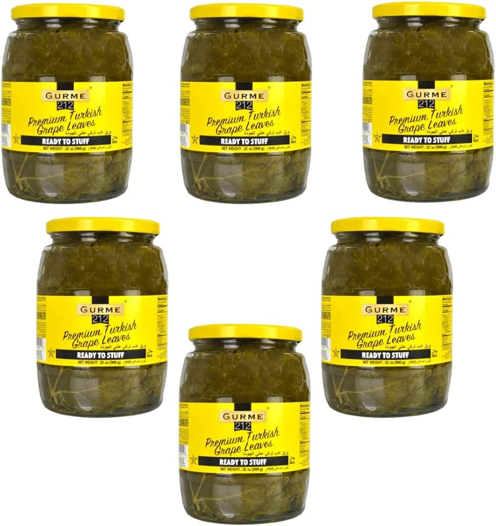 Gourmet212 Grape Leaves 32 Ounces Premium Max 61% Ranking integrated 1st place OFF Ready to St Quality