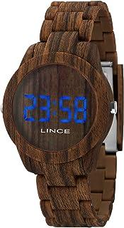 Relógio Lince Feminino Ref: Mdp4616p Dxnx Digital LED Marrom