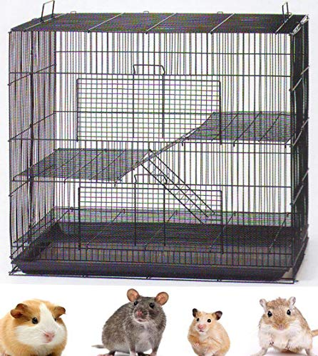 New 3 Levels Ferret Chinchilla Sugar Glider Rats Mouse Animal Cage 24