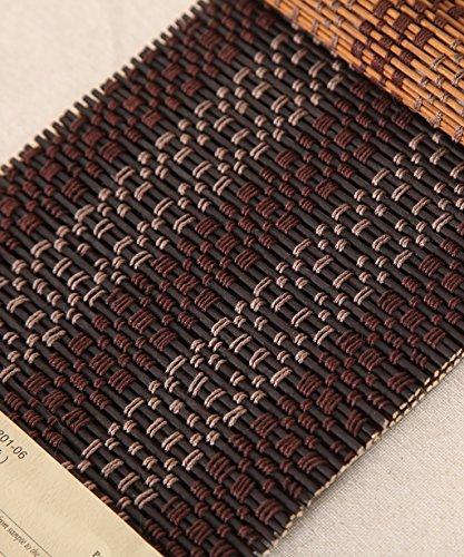 WUFENG Rideau Rideau De Bambou Ombre Ombres Protection Contre La Corrosion Store Salon De Thé Salon, Plusieurs Tailles Peut Être Personnalisé (Couleur : B, Taille : 90 * 180cm)